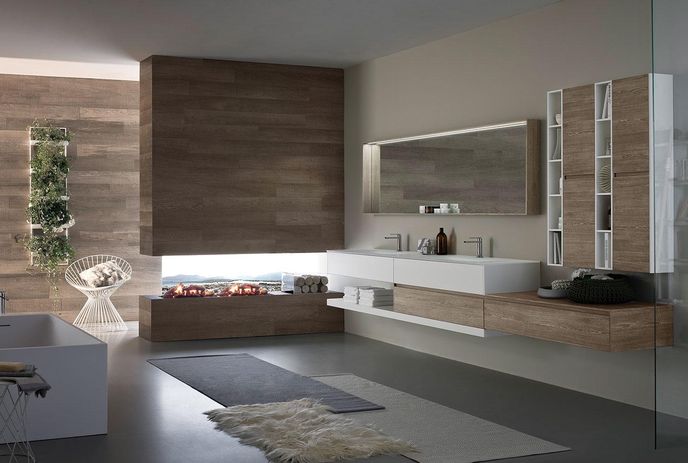 Mobiliers de salle de bain bath room - Interni bagni moderni ...