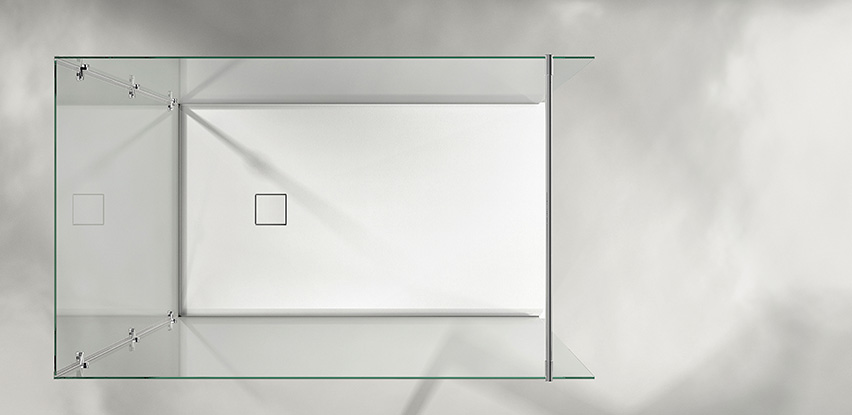 Douche italienne de salle de bain bath room for Realisation douche italienne sans receveur