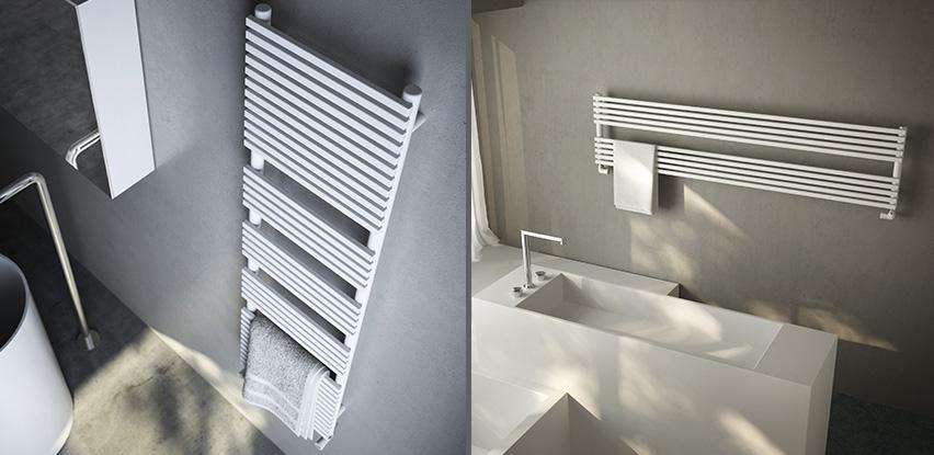 Radiateurs de salle de bain bath room - Seche serviette design salle de bain ...
