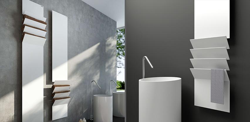 Radiateurs de salle de bain bath room - Seche serviette hydraulique ...